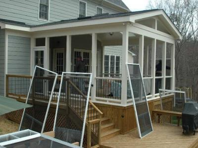 Screened In Porch Installation Services Screened In Porch Pros
